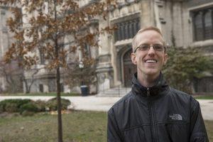 Sam Greene, at the University of Chicago Photo Credit: Robert Kozloff/The University of Chicago