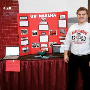NSSLHA Outreach Booth