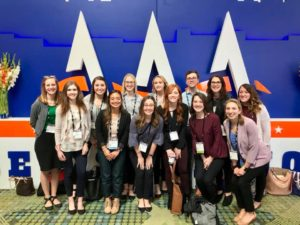 SAA Students at the American Academy of Audiology Conference 2018