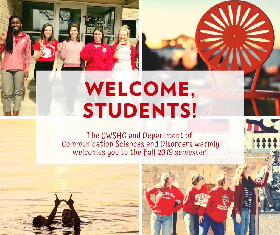 Photo montage of UW-Madison students