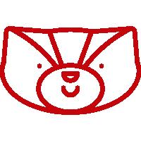 Bucky Happy Icon