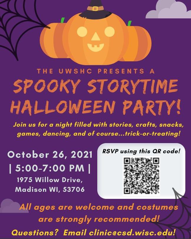 UWSHC Halloween Invite